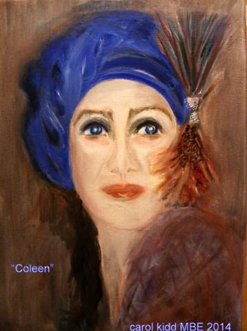 Carol painting - Coleen