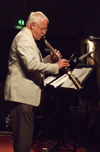 Jim Galloway, Norwich Jazz Party, 2011