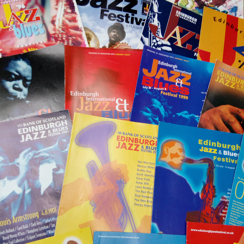 Edinburgh Jazz Festival - 1990s & 2000s covers