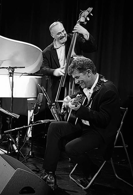 Edinburgh Jazz Festival - Roy Percy on bass, 2017,& Dave Blenkhorn (guitar) 2