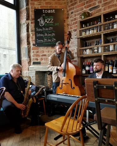 Leith Jazz Festival trio